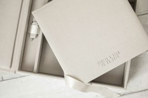 wedding album box and usb